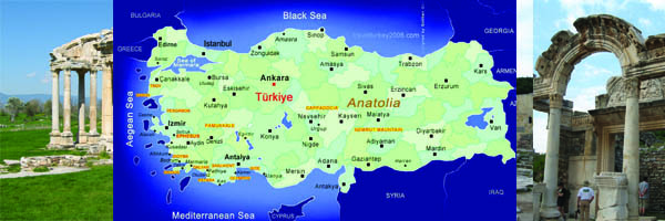 Seven Churches Of Asia Minor Turkey Tour Tropical Sails Corp