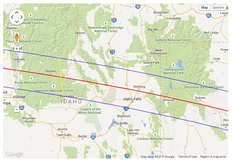Jackson Wyoming Solar Eclipse Planning for August 21, 2017