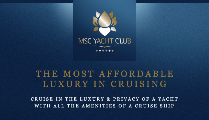 MSC Yacht Club Is The Most Affordable Luxury In Cruising