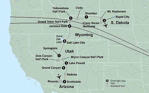 National Parks Solar Eclipse Tour 2017