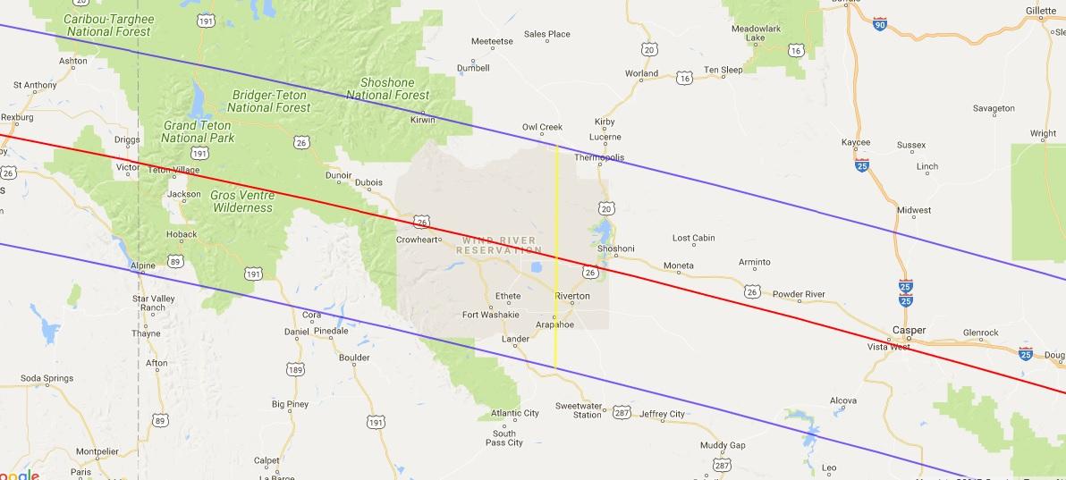 Last Minute Solar Eclipse 2017 Lodging Lander Wyoming